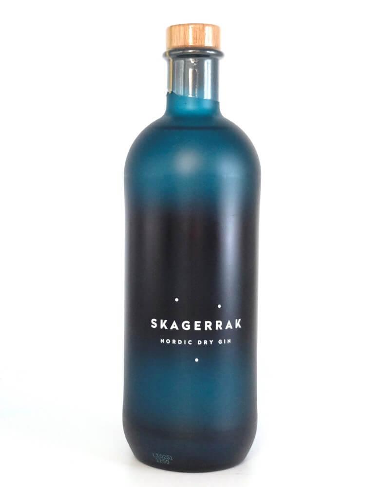 Blaue Flasche Skagerrak Gin