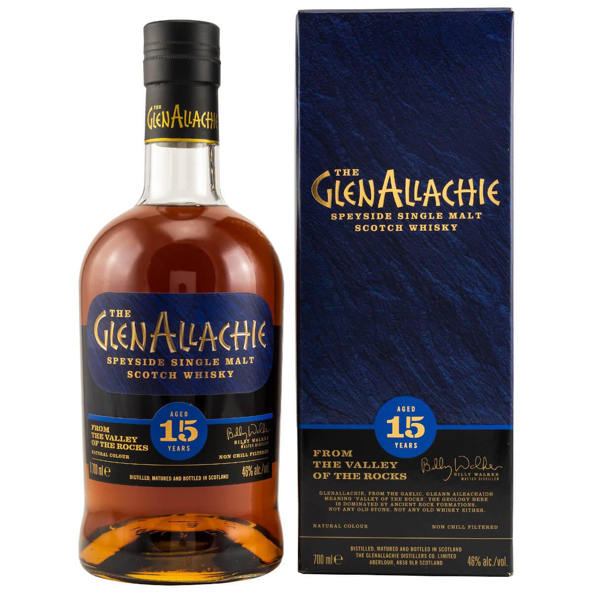 GlenAllachie 15 Jahre Speyside Whisky