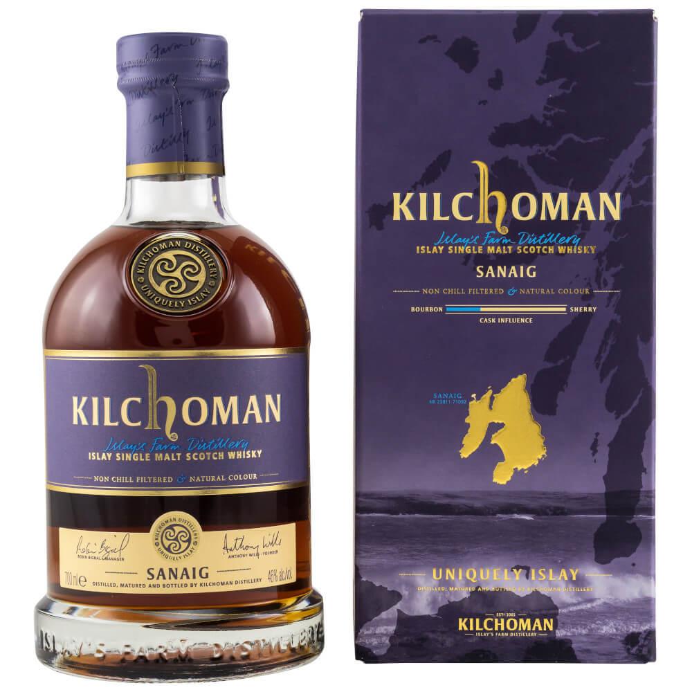Kilchoman Sanaig Whisky von Islay