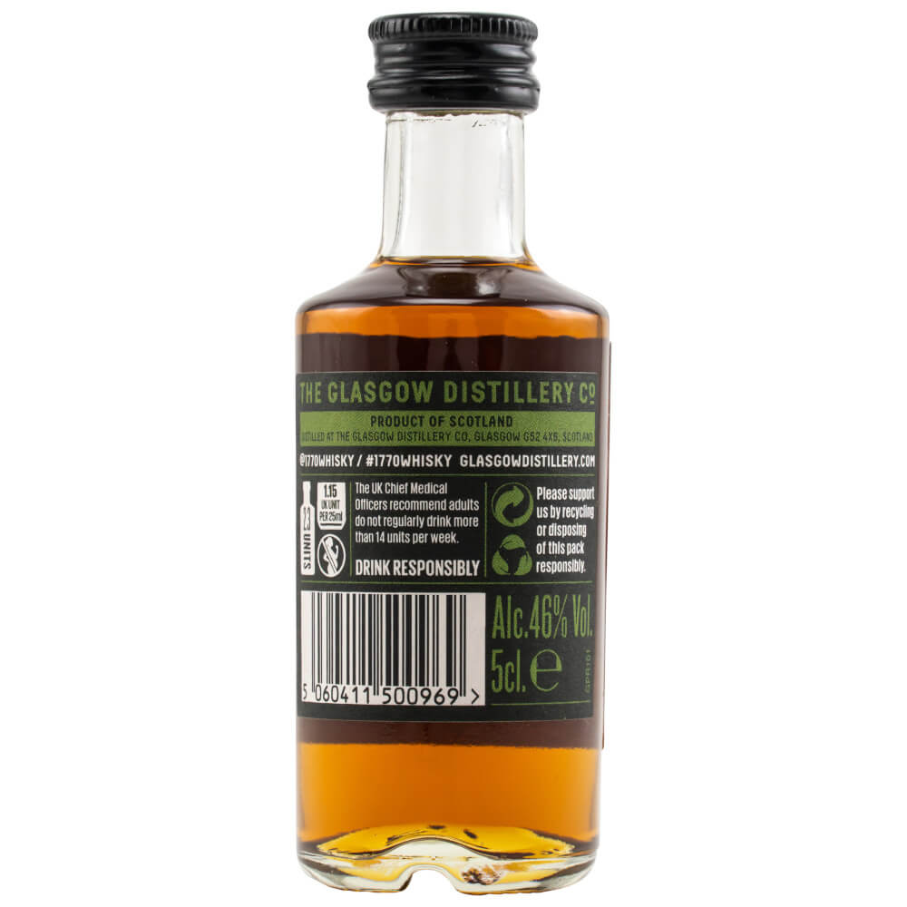 1770 Glasgow Single Malt Whisky Peated