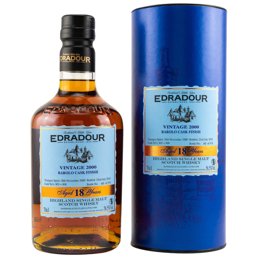 Edradour Barolo schottischer Whisky