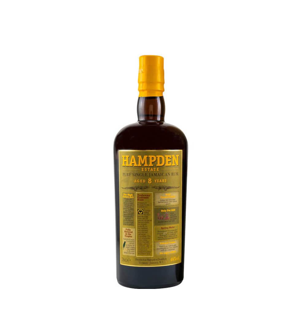 Flasche Hampden Estade Rum 8 Jahre