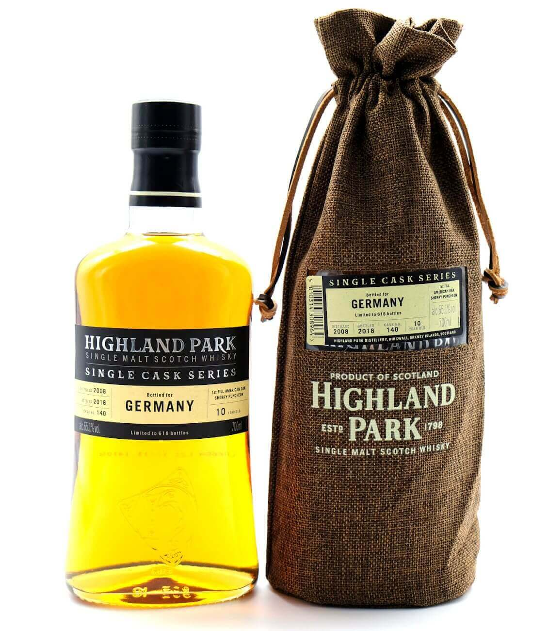 Highland Park Germany Edition 2008/2018 schottischer Whisky