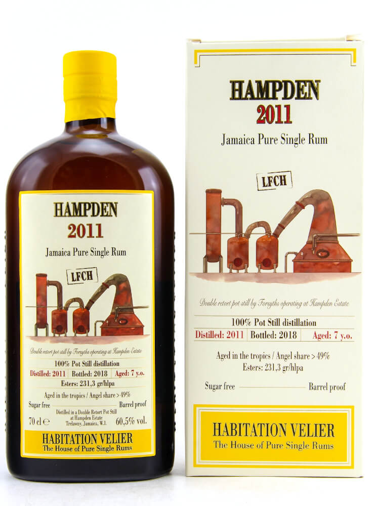 Hampden LFCH Habitation Velier Jamaica Pure Single Rum