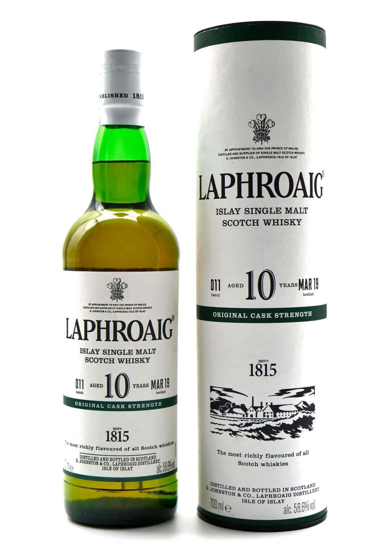 Laphroaig 10 Jahre Cask Strength Islay Whisky