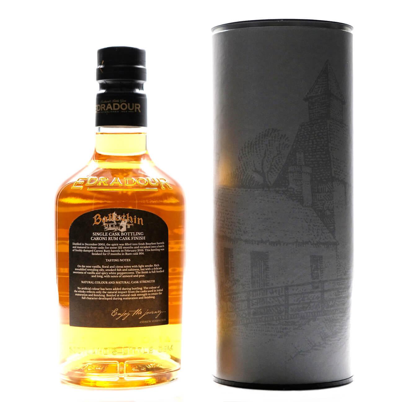 Ballechin schottischer Whisky 11 Jahre