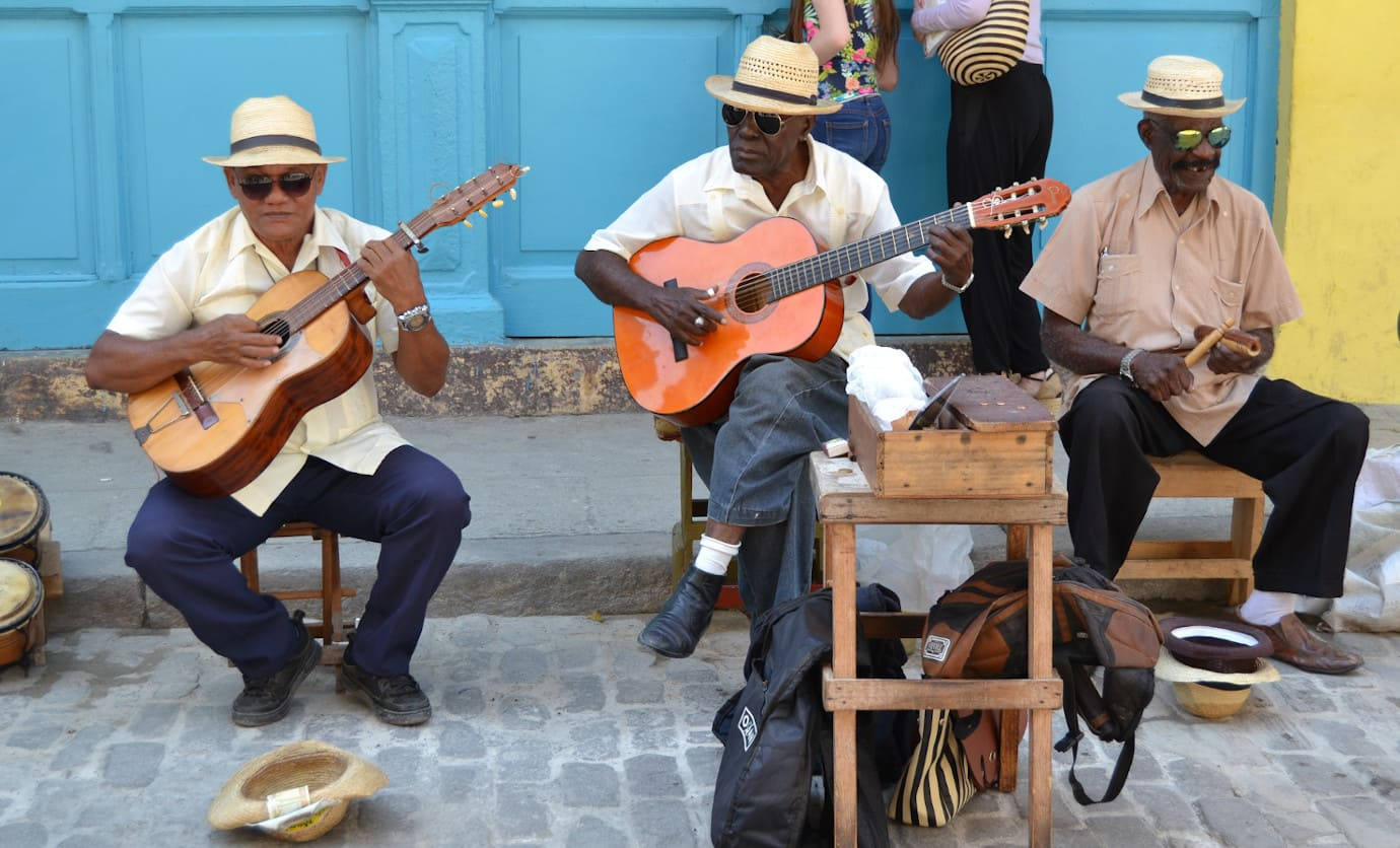 3 Straßenmusiker