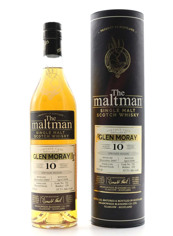 Flasche The Maltman Glenmoray Speyside Whisky