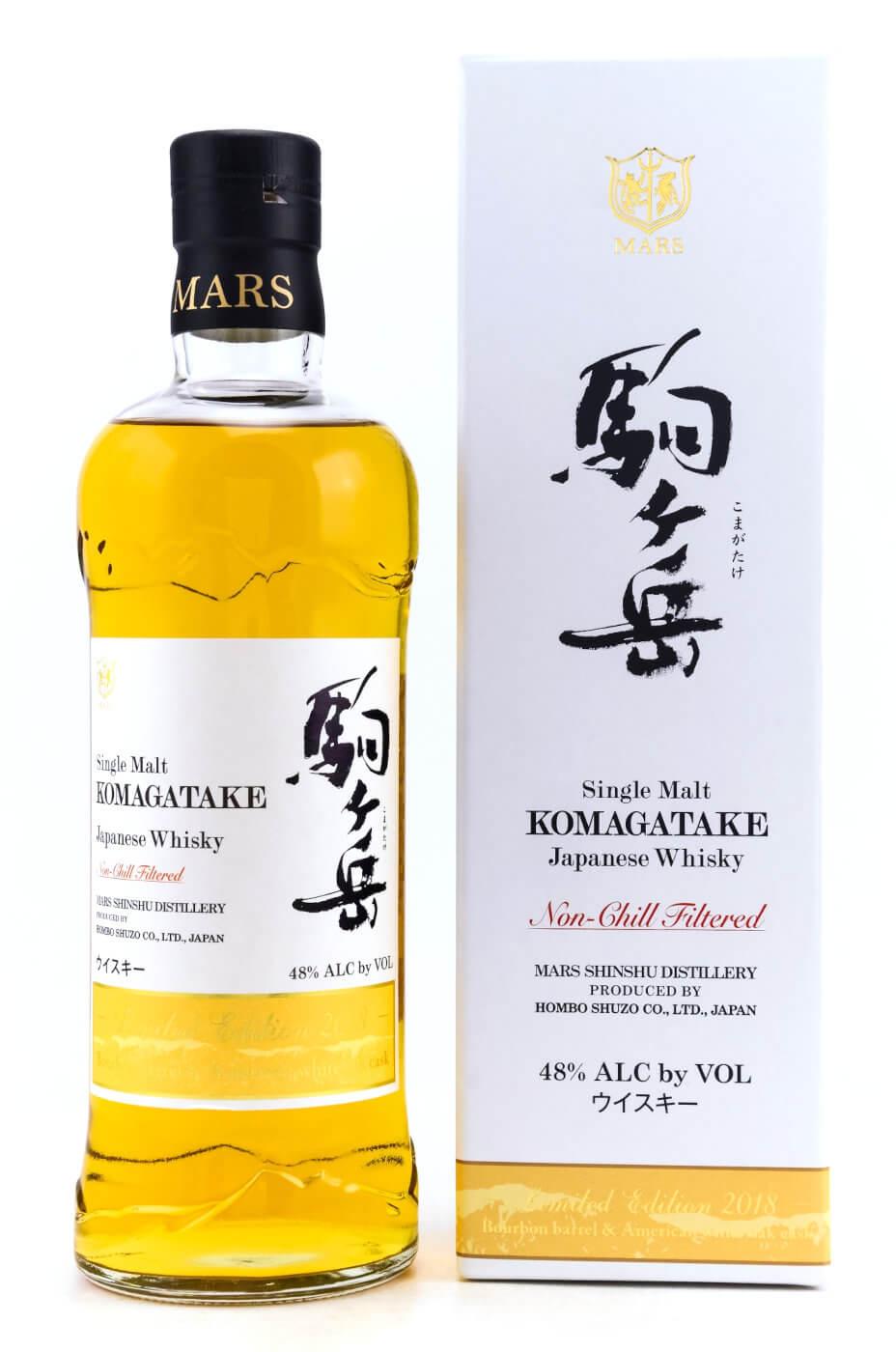 Mars Komagatake japanischer Whisky