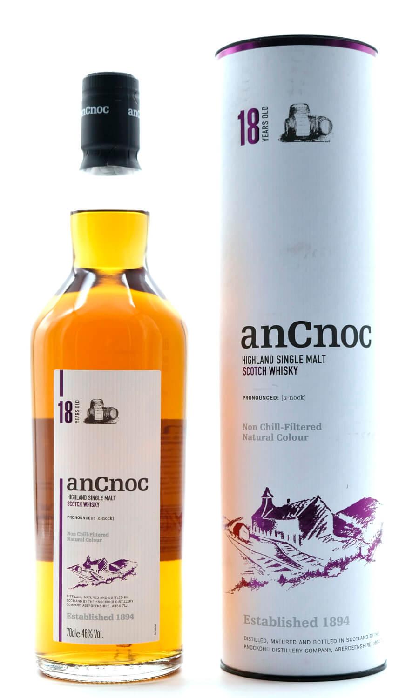 ancnoc 18 Jahre schottischer Whisky