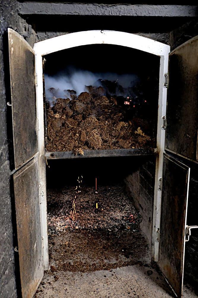 Kiln in der Laphroaig Distillery