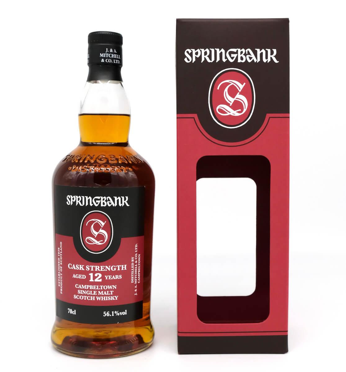 Springbank 12 Campbeltown Whisky Rückseite