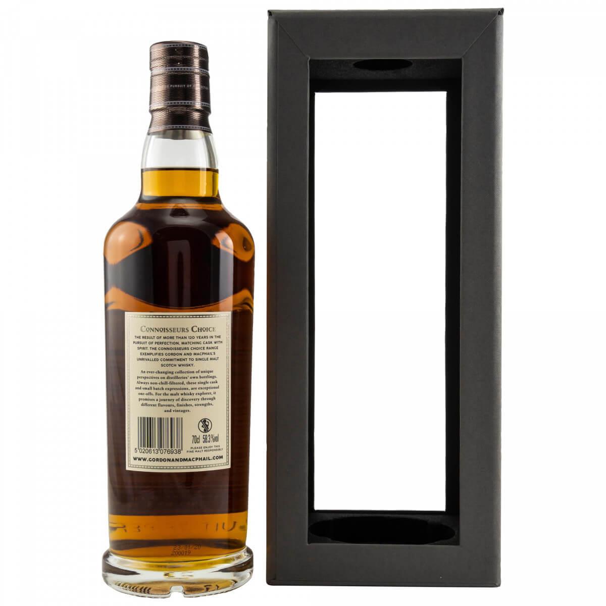 Caol Ila 1996/2020 Whisky Rückseite