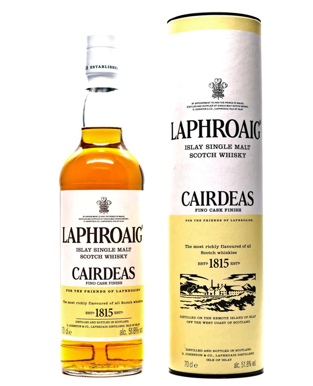 Laphroaig Cairdeas mit Tube