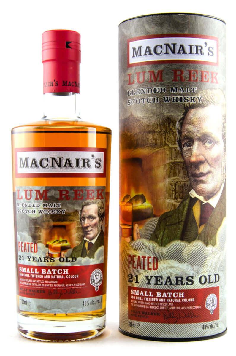 MacNair's Lum Reek 21 Jahre Whisky