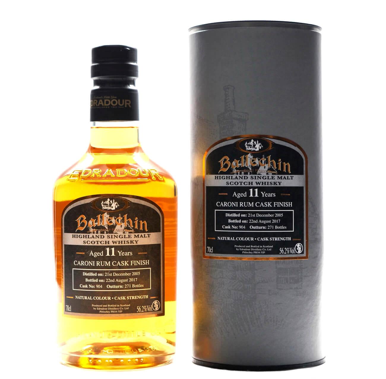 Ballechin 11 Jahre schottischer Whisky