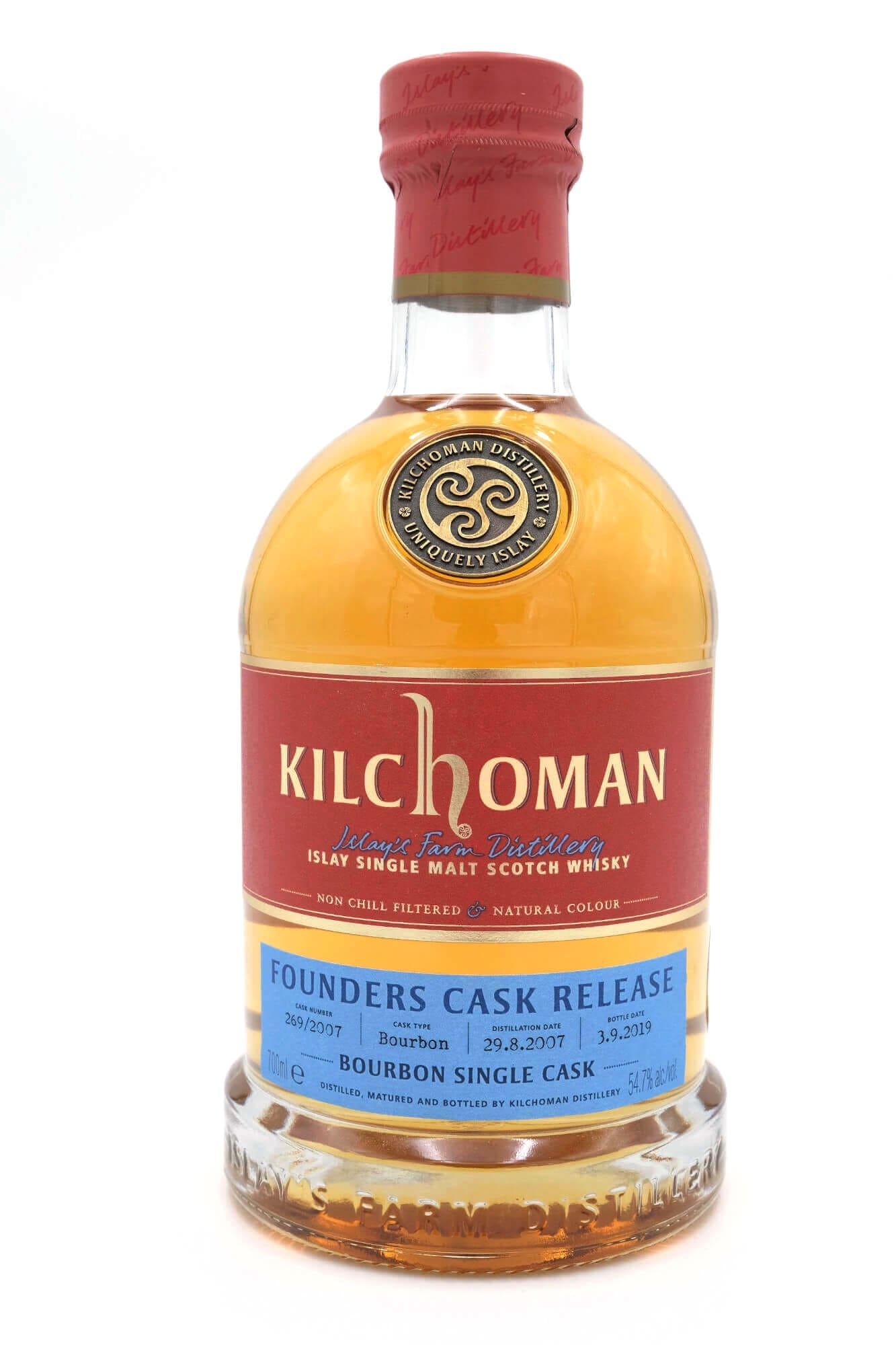 Kilchoman Founders Cask Whhisky von Islay