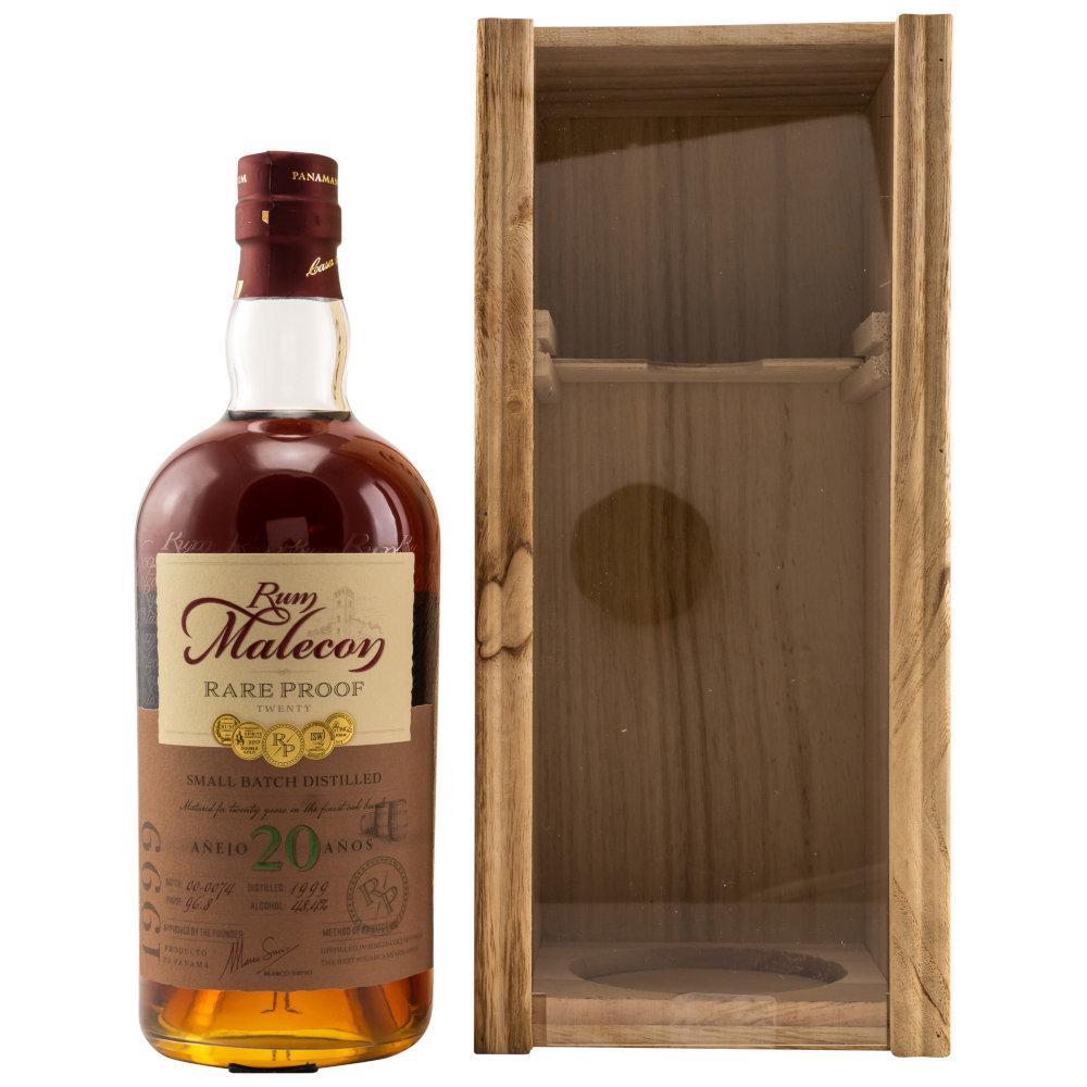 Malecon 20 Rare Proof Rum mit Holzkiste