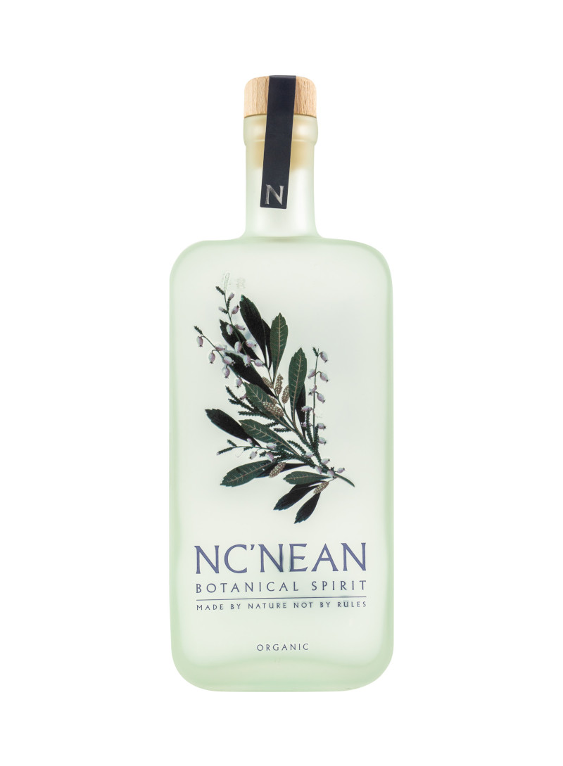 hellgrüne Flasche Botanical Spirit