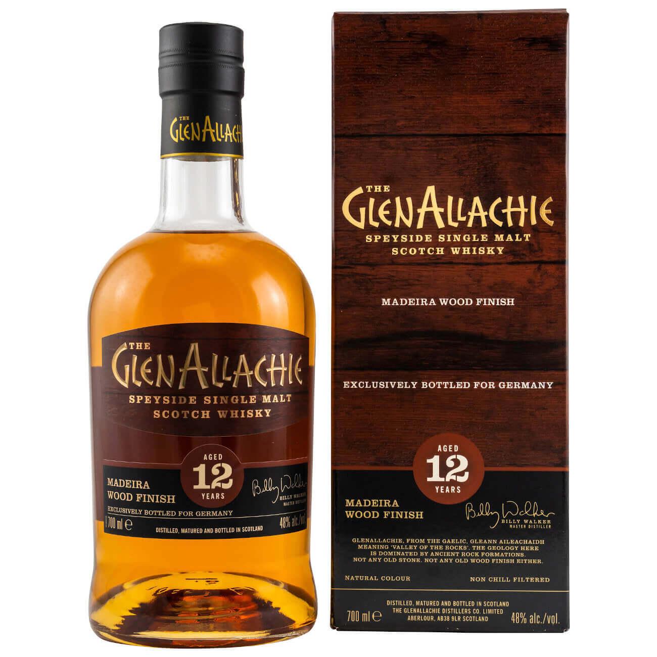GlenAllachie 12 Jahre Speyside Whisky