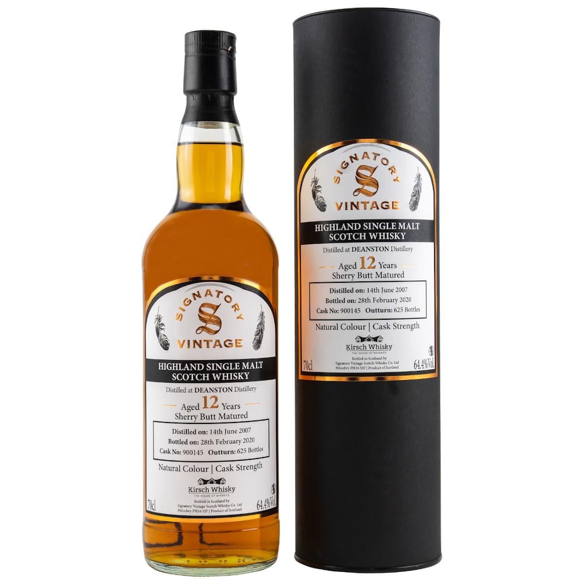 Deanston 12 Jahre Highland Whisky