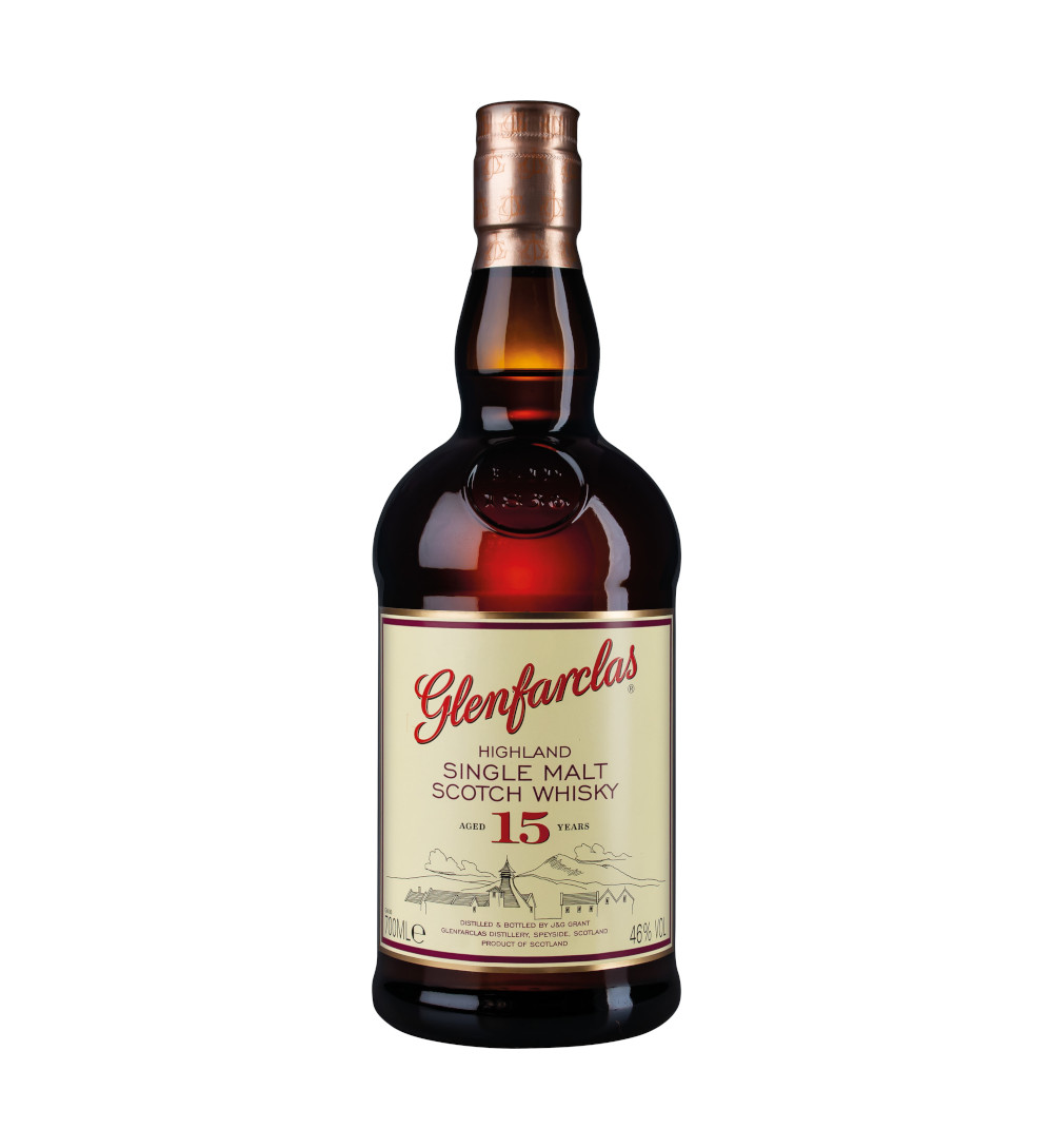 Flasche Glenfarclas 15