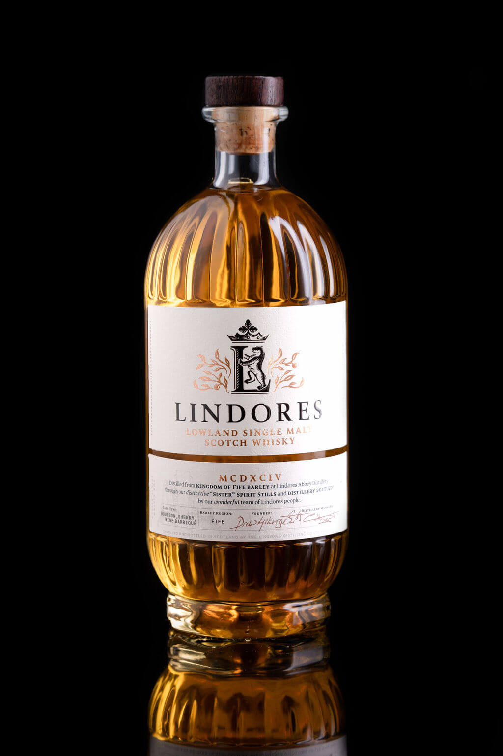 Flasche Lindores Abbey Whisky