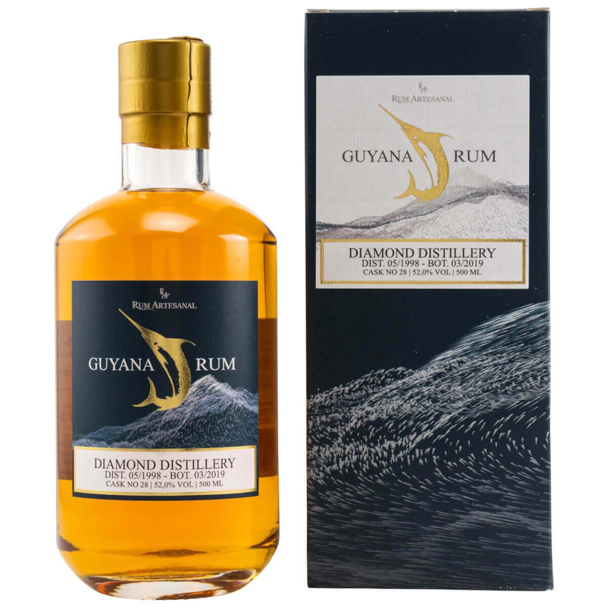 Diamond Guyana 20 Jahre Rum