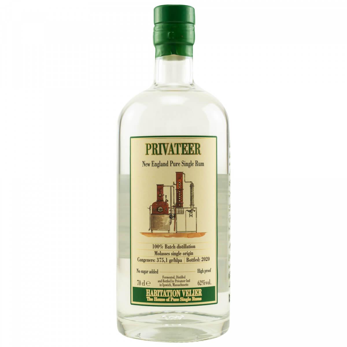 Flasche Privateer 2020 Rum
