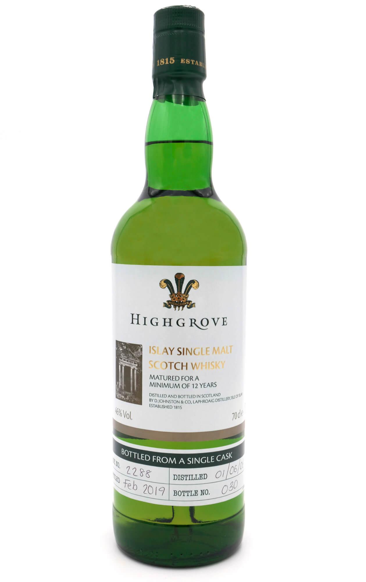 Highgrove Laphroaig Whisky von Islay