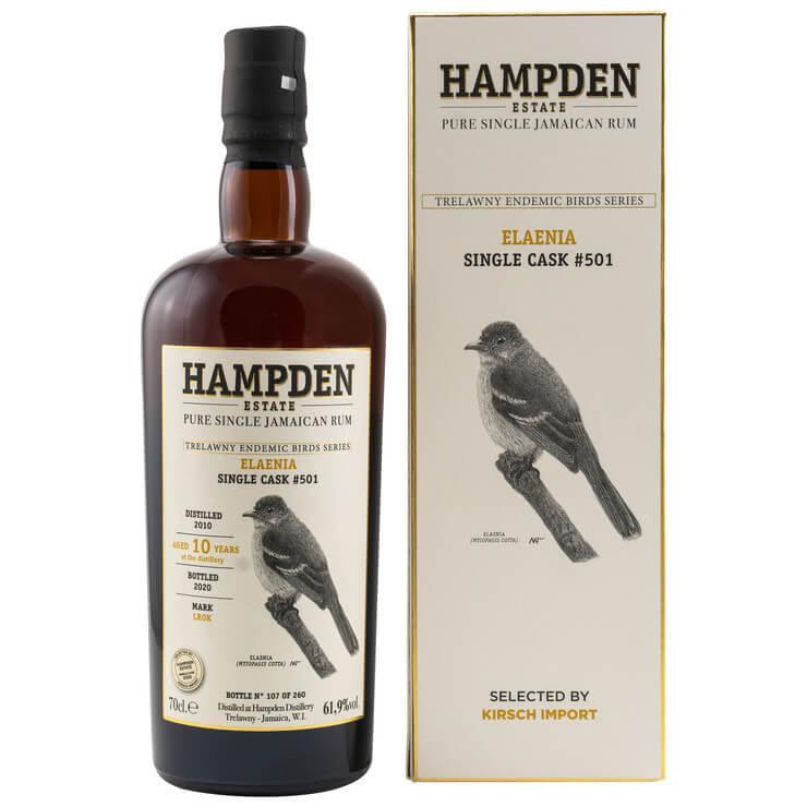 Hampden Estate White Eyed Thrush 2012/2020 Single Cask #664
