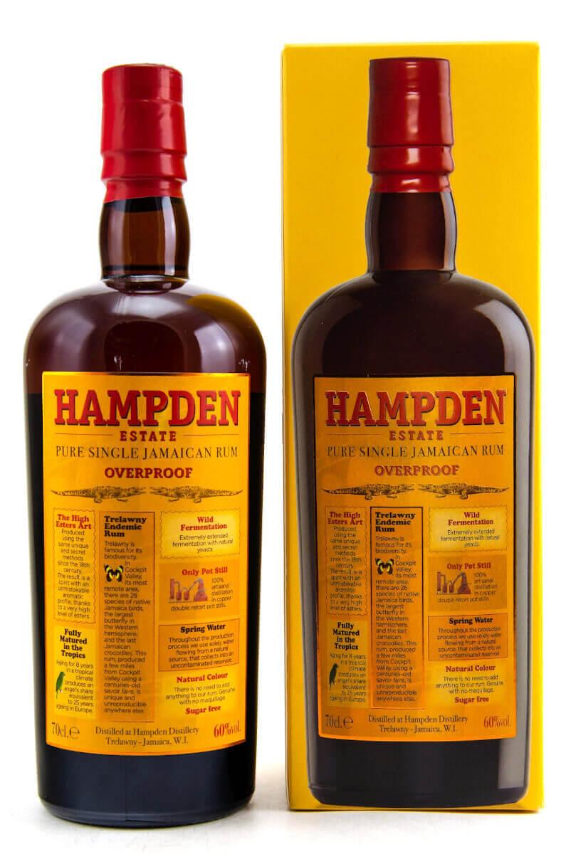 Hampden Estade Overproof 60° Rum bestellen