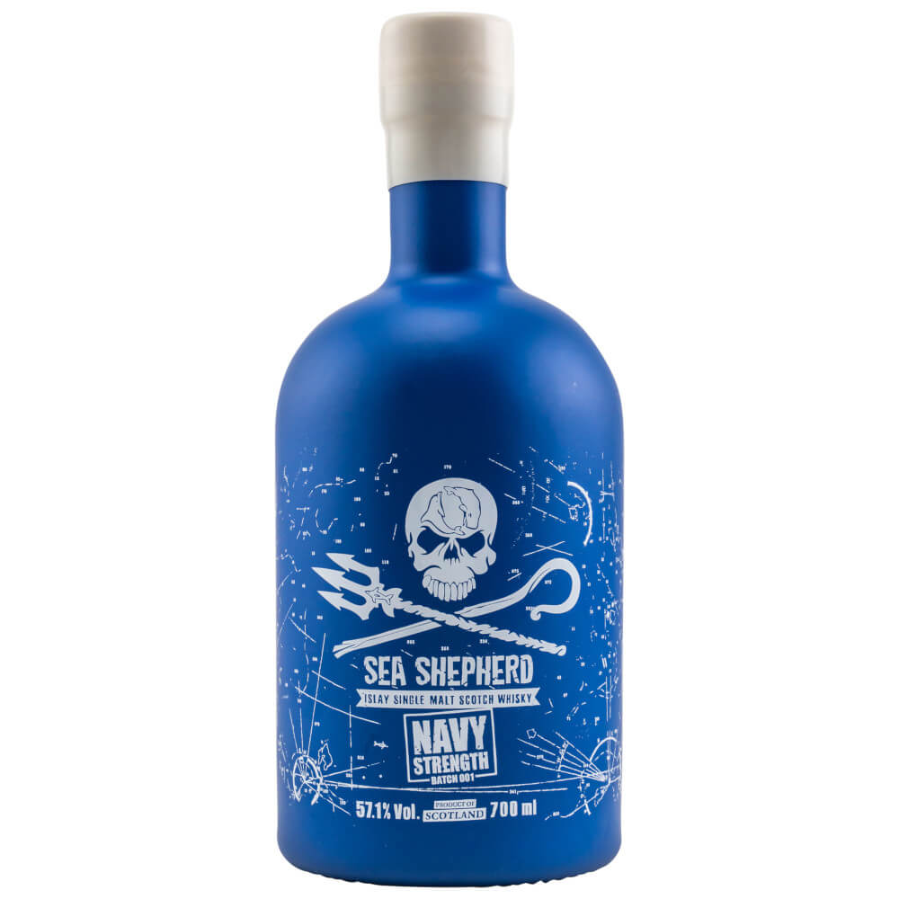 Sea Shepherd Navy Strength Islay Whisky Batch #1