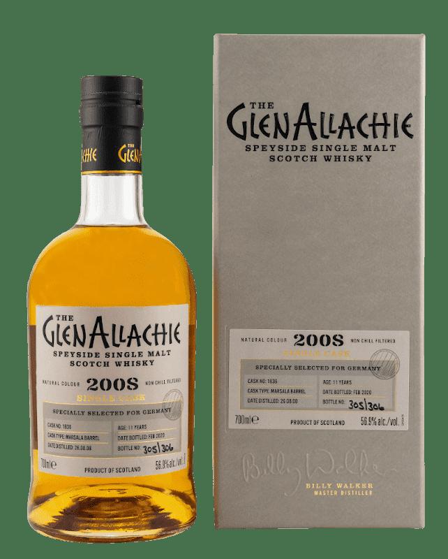 GlenAllachie Marsala schottischer Whisky