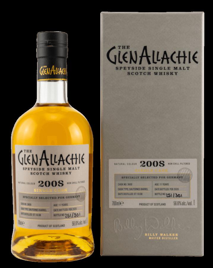 GlenAllachie Sauternes Cask Speyside Whisky