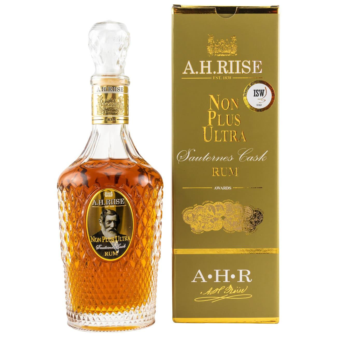 A. H. Riise Sauternes Cask Rum