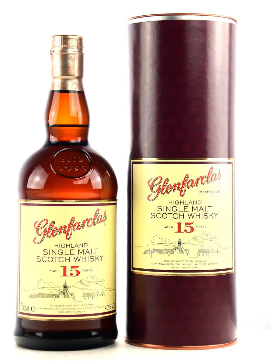 Glenfarclas 15 Jahre Speyside Whisky
