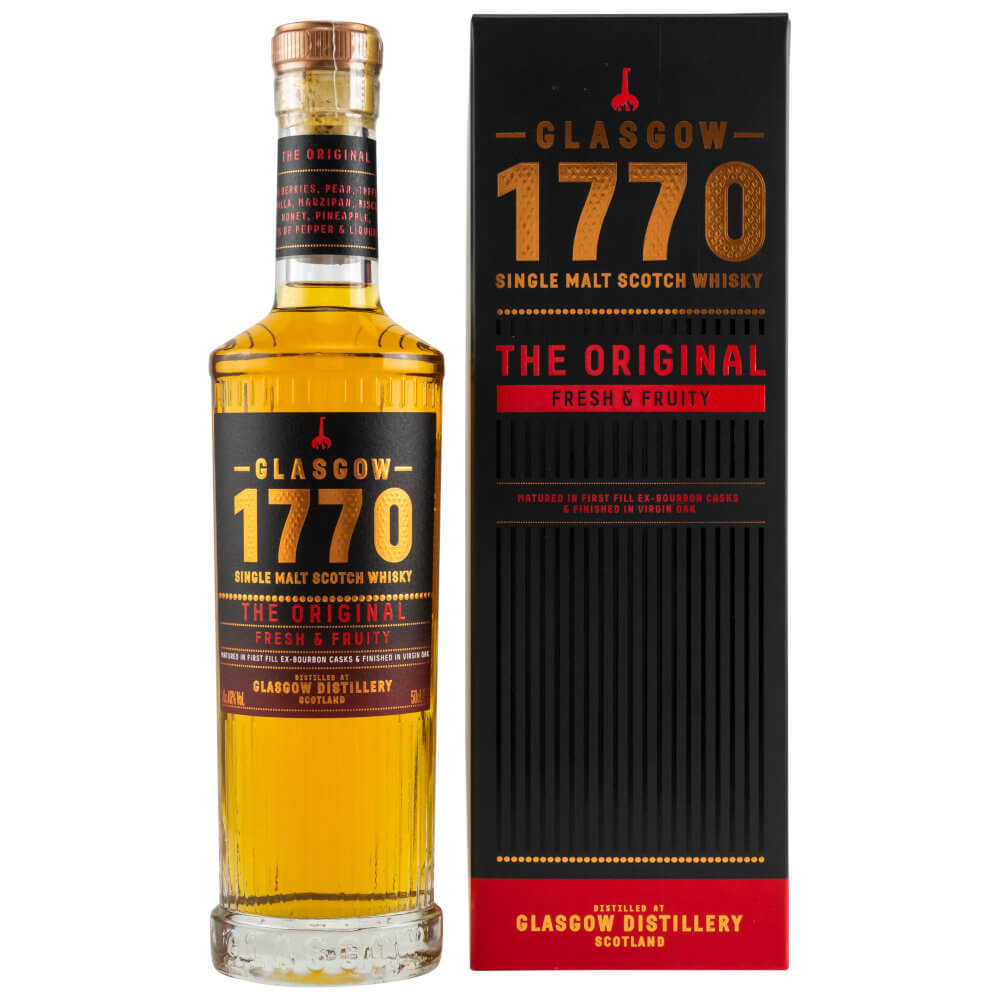 Flasche 1770 The Original Lowlands Whisky