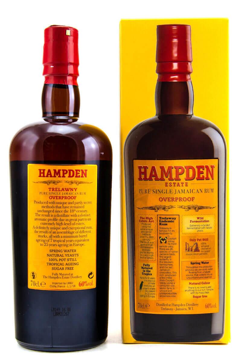 Hampden Estate Overproof Jamaica Pure Single Rum