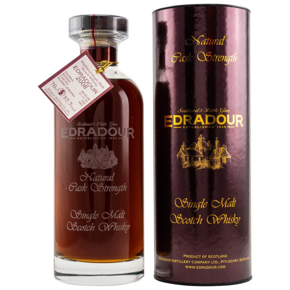 bordeaux farbener Edradour 2008-2002 Whisky