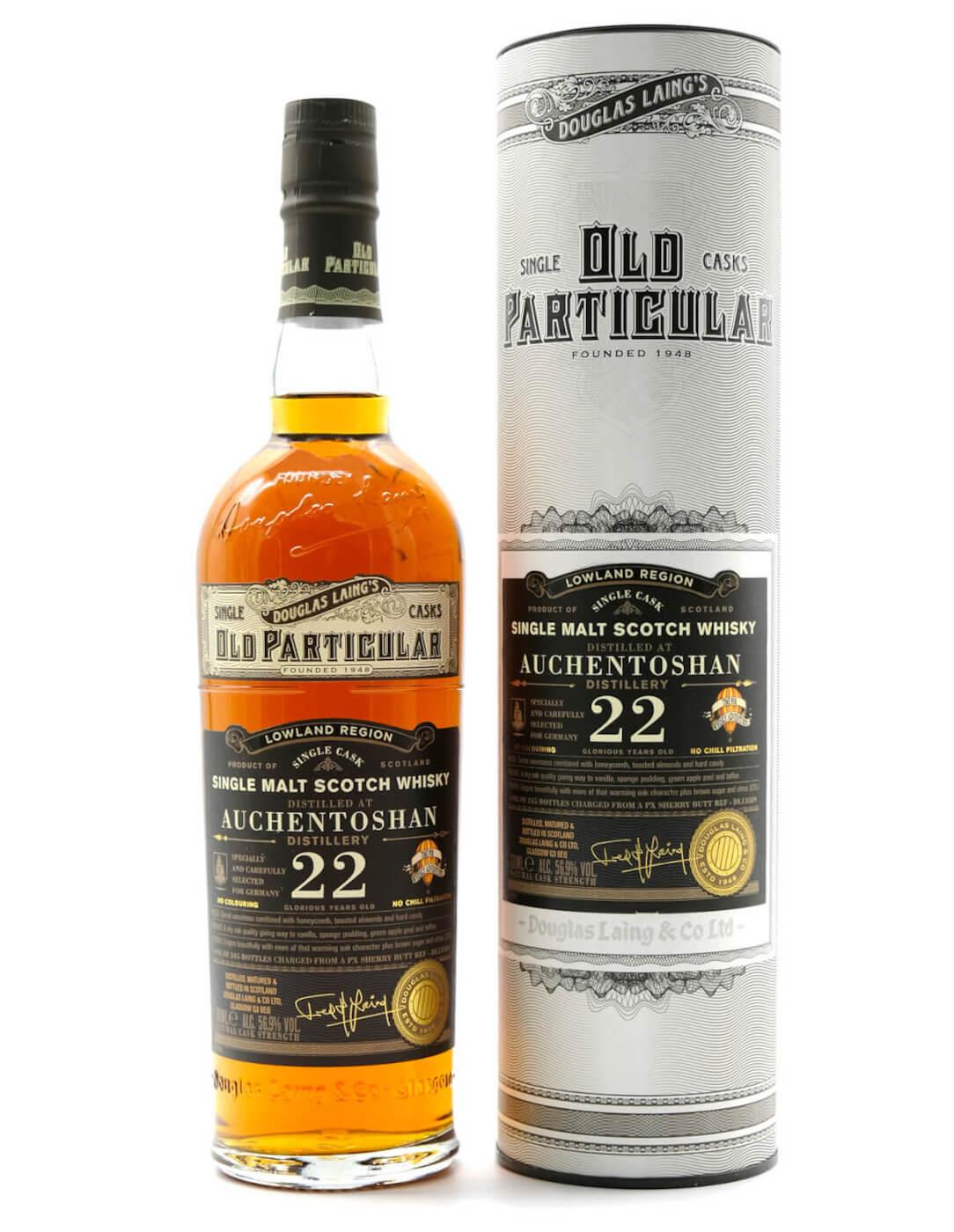 Auchentoshan 22 Jahre Lowlands Whisky