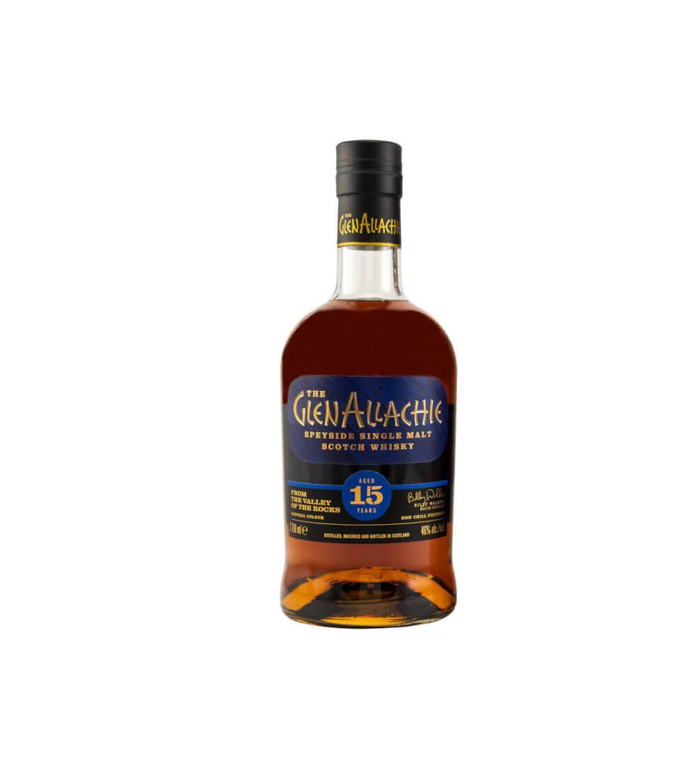 Flasche GlenAllachie 15 Whisky