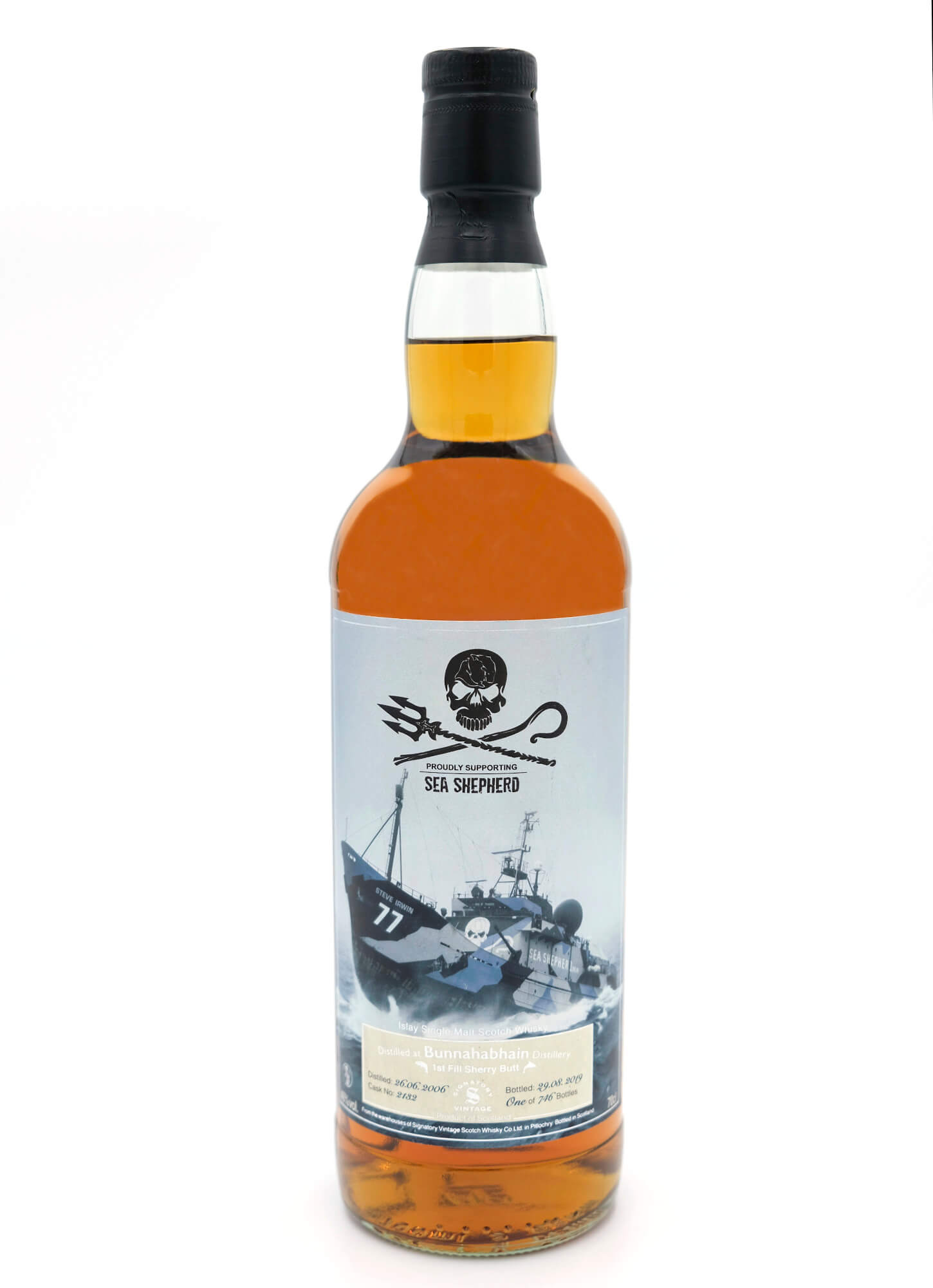 Sea Shepherd Bunnahabhain Islay Whisky