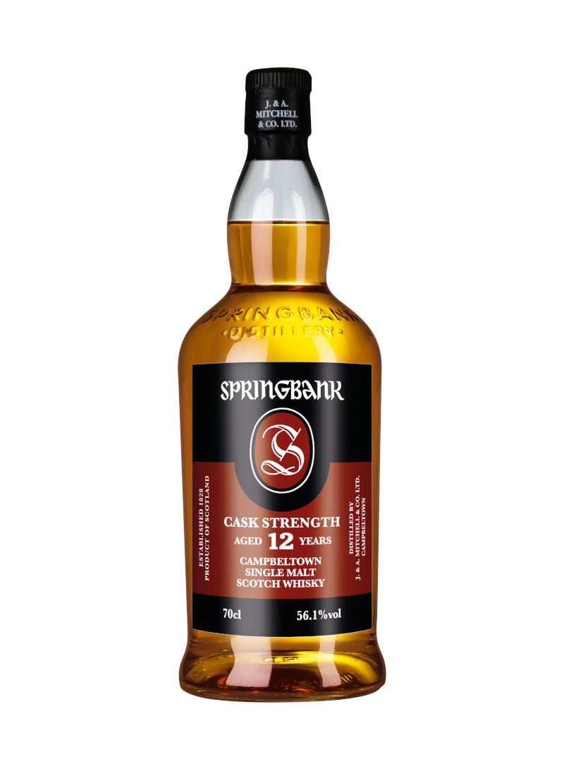 Flasche Springbank 12 Jahre Cask Strength