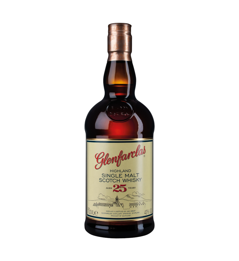 Flasche Glenfarclas 25