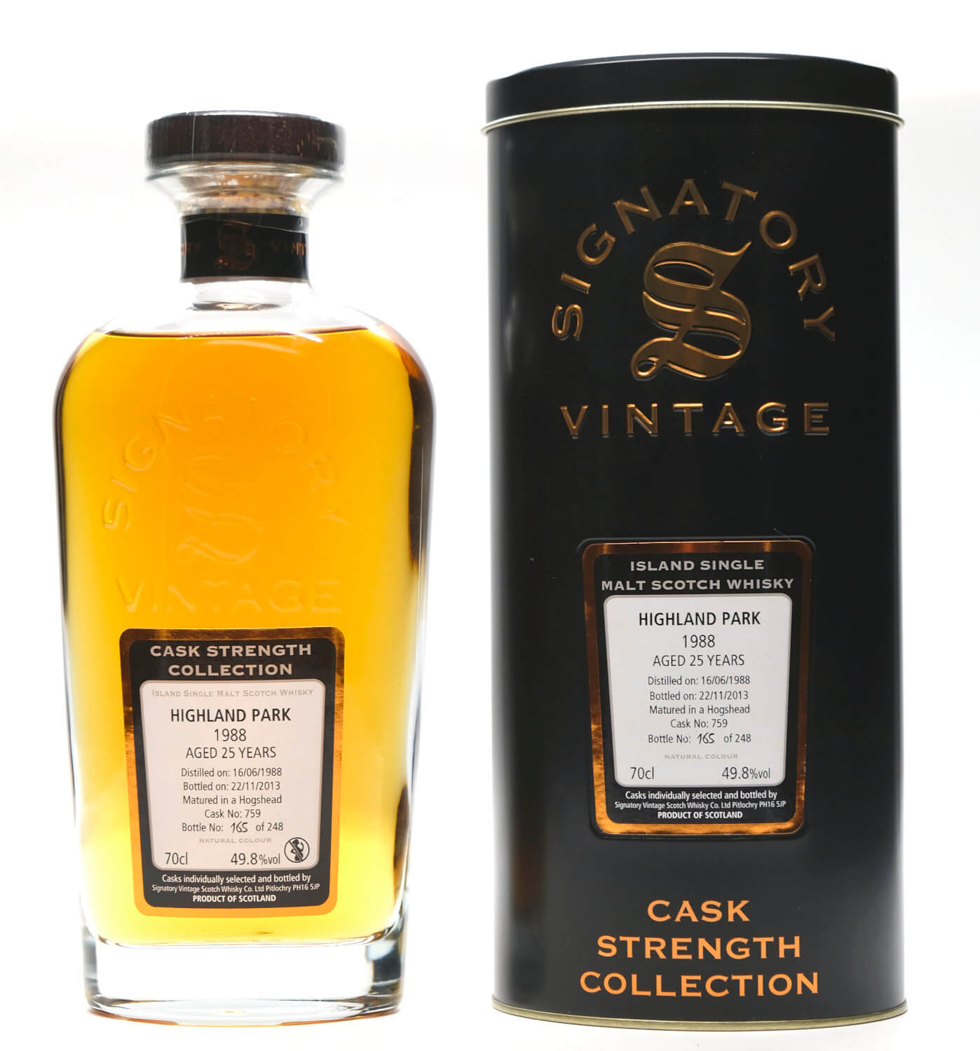 Highland Park Signatory Vintage Islands Whisky