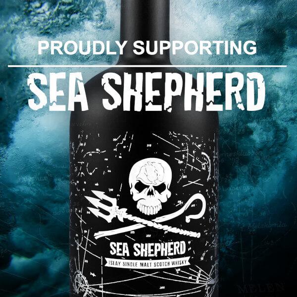 Flasche Sea Shepherd Whisky