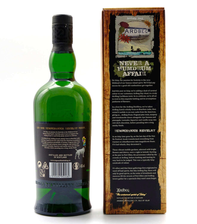 Ardbeg Drum Whisky mit Geschenkverpackung