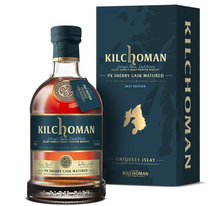 Flasche Kilchoman PX Sherry Cask