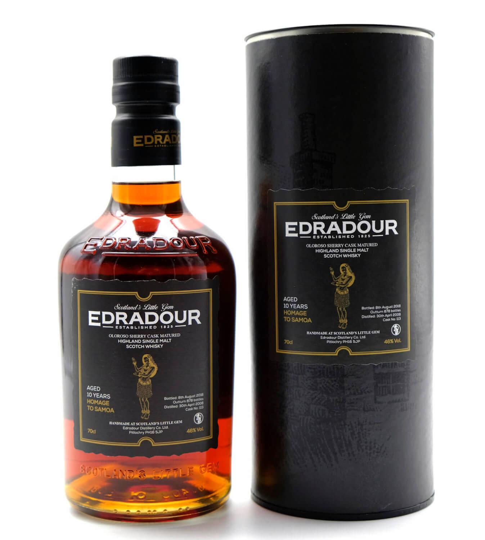 Edradour Homage to Samoa Highland Whisky